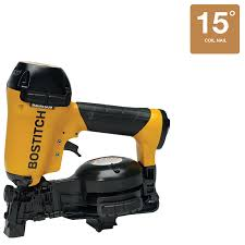 Battery Roofing Nailer by Roofing Nailer U0026 Bostitch 1 75 In 15 Degree Roofing Nailer Sc 1 St
