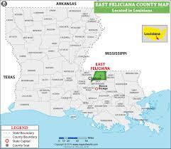 Map Of East Usa by East Feliciana Parish Map Louisiana