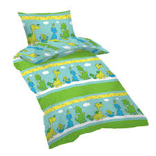 baby happy dinosaurs 100 cotton cot crib set duvet cover