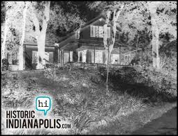the house of blue lights historic indianapolis all things