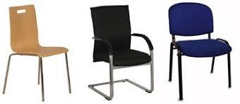chaise visiteur bureau fauteuil de bureau chaises et sièges bureau dépôt