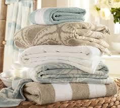 starfish towel pb classic stripe bath towels pottery barn