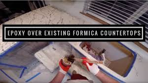 Epoxy Products How To Applying Metallic Epoxy Over Existing Formica Countertops