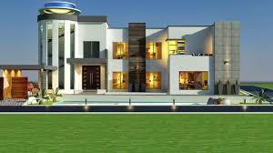 house modern design 2014 villa house 2014 3d front elevation kanal modern decoracion