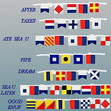 Nautical Code Flags Flags U2013 Ib Designs Usa Blog