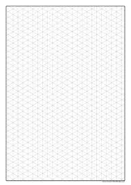 printable isometric paper a4 graph paper to print isometric paper