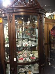 Pulaski Curio Cabinet Used Furniture Curio Cabinets For Sale Wood Curio Cabinet White