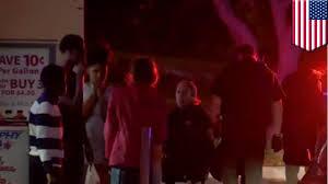 shots fired as hundreds of teens storm amc theater inside west
