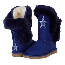 womens boots navy dallas cowboys cuce chions navy fur boot footwear other
