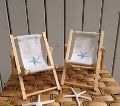 chair cake topper starfish cake decoration chair canvas back pair chairs