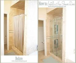 New Shower Doors How To Install A New Shower Door Hometalk