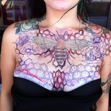 bee comb chest for tattooshunt com