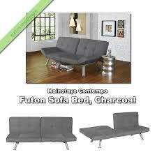 futon sofa bed sleeper modern convertible dorm lounge couch futons