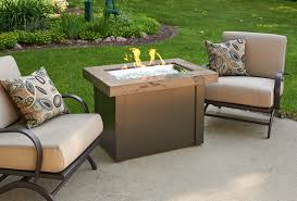 napa valley crystal fire pit table chat height fire pit tables with rectangular burner