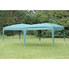 how many tables fit under a 10x20 tent amazon com palm springs 10 x 20 ez pop up green canopy new gazebo