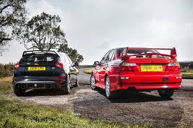 mitsubishi rally car icon buyer new ford focus rs vs used mitsubishi evo vi by car