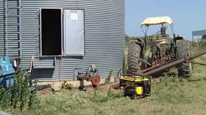 Grain Silo Homes by Grain Silo Sweep Auger Youtube