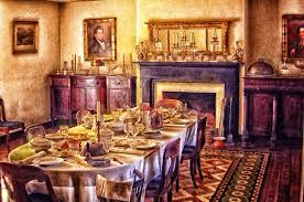 victorian dining room digital art by mary almond