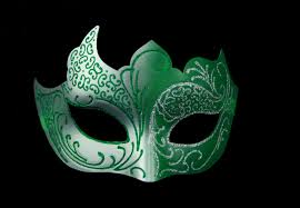 masquerade masks green and silver masquerade mask masquerade masks shop