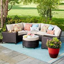 Wicker Sectional Patio Furniture by Harrison Wicker Patio Furniture Collection Threshold Target