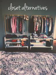 no closet this post offers alternative ways to store and display