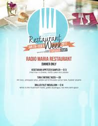 here are your 2017 restaurant week menus food u0026 drink smile