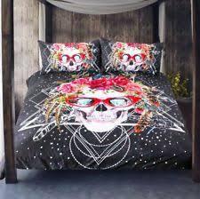 skull bedding ebay