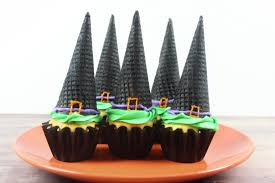 Halloween Witch Cake by Witch Hat Cupcakes