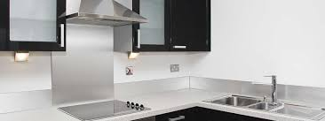 stainless steel backsplashes for kitchens steel kitchen backsplash panels