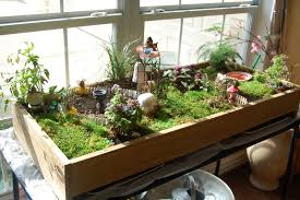 miniature table top garden with stepables my fairy garden the