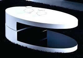 2017 best of round high gloss coffee tables