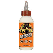 best wood glue for kitchen cabinets gorilla wood glue white interior exterior wood adhesive actual net contents 8 fl oz