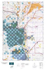 Washington State Gmu Map by Wa Gmu 330 West Bar Map Mytopo