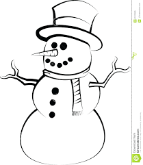 carrot nose snowman coloring pages pinterest for preschool