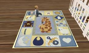 second life marketplace baby childs rug giraffe design