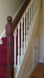 Mahogany Banister Stairs U2014 Ashley Woodworking