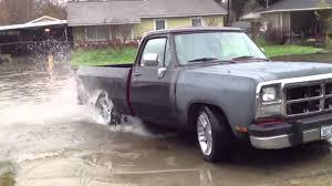 Dodge Ram 85 - dodge ram d150 water burnout youtube