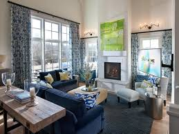 Hgtv Room Designs  Well Appointed Contemporary Living - Living room designs 2012
