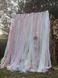 Shabby Chic Curtains Cottage Shabby Chic Curtains Vintage Ashwell Fabric Ribbon And