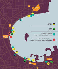 Doha Map People Plan Grand Event To Welcome Back Emir The Peninsula Qatar