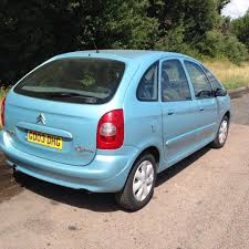 2003 citreon xsara picasso manual diesel service history 7 months
