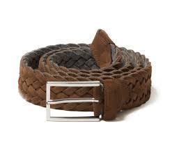 light brown suede belt light brown woven suede belt luca faloni