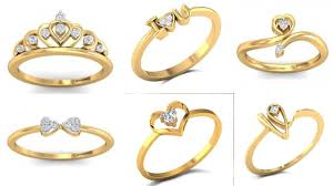rings simple design images Daily wear ring design gold ring for women stylish gold ring jpg
