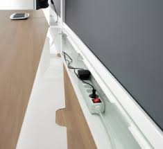 Desk With Cable Management by Cable Management For Your Office Furniture Chworkspace Blog