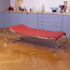Unique Table Ls Chrome And Leather Bauhaus Thonet Ls 23 Daybed By Anton