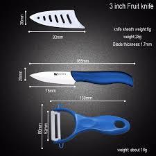 best ceramic kitchen knives ceramic knife set 6