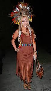 Indian Costumes Halloween Indian Headpiece Earrings Dress Indian