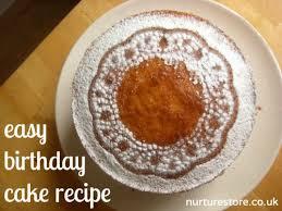 birthday cake recipe nurturestore