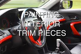 how to paint interior trim pieces video cars diy u0026 howto blog