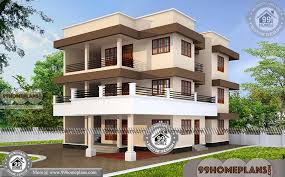 3 story home plans modern 3 story house plans with 3d elevations new apartment designs